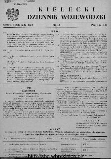 Kielecki Dziennik Wojewódzki 1950, nr 13