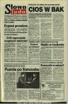 Słowo Ludu,1993 R.XLIV, nr 259 (wydanie radomskie)