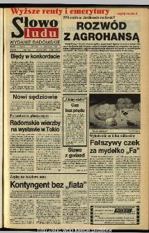 Słowo Ludu,1993 R.XLIV, nr 265 (wydanie radomskie)