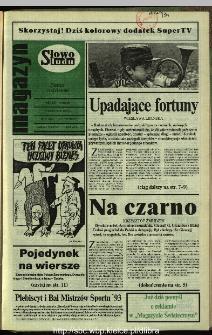 Słowo Ludu,1993 R.XLIV, nr 268 (magazyn)