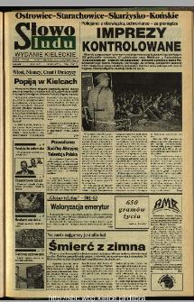 Słowo Ludu,1993 R.XLIV, nr 269 (Ostrowiec-Starachowiece-Skarżysko-Końskie)