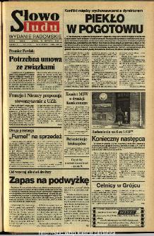 Słowo Ludu,1993 R.XLIV, nr 271 (wydanie radomskie)