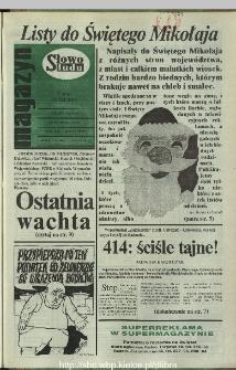 Słowo Ludu,1993 R.XLIV, nr 274 (magazyn)