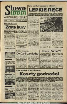 Słowo Ludu,1993 R.XLIV, nr 275 (wydanie radomskie)