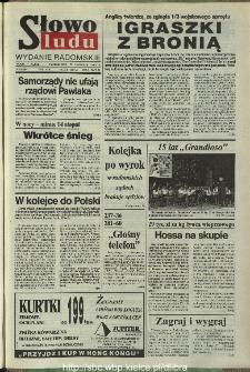 Słowo Ludu,1993 R.XLIV, nr 276 (wydanie radomskie)