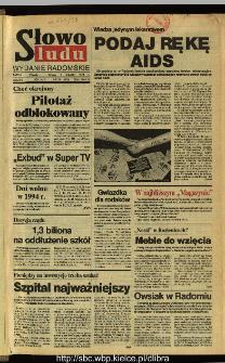 Słowo Ludu,1993 R.XLIV, nr 278 (wydanie radomskie)