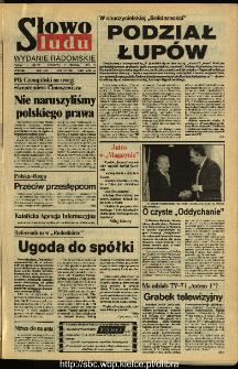 Słowo Ludu,1993 R.XLIV, nr 279 (wydanie radomskie)