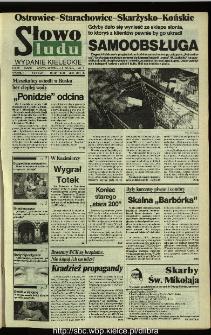 Słowo Ludu,1993 R.XLIV, nr 281 (Ostrowiec-Starachowiece-Skarżysko-Końskie)