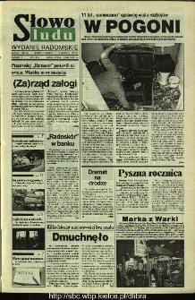 Słowo Ludu,1993 R.XLIV, nr 287 (wydanie radomskie)