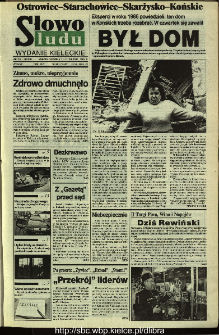 Słowo Ludu,1993 R.XLIV, nr 287 (Ostrowiec-Starachowiece-Skarżysko-Końskie)