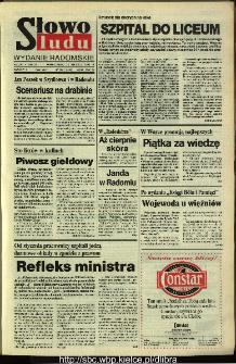Słowo Ludu,1993 R.XLIV, nr 288 (wydanie radomskie)