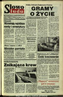 Słowo Ludu,1993 R.XLIV, nr 299 (wydanie radomskie)