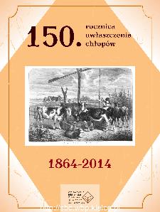 150. rocznica uwłaszczenia chłopów 1864-2014
