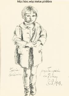 Todzia Walkiewicz przyszła w gości do V klasy