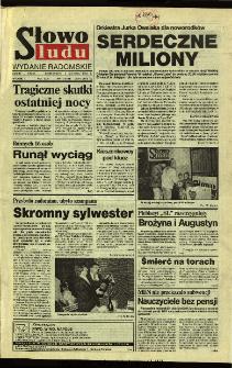 Słowo Ludu 1994, XLV, nr 1 (wydanie radomskie)
