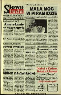 Słowo Ludu 1994, XLV, nr 3 (wydanie radomskie)