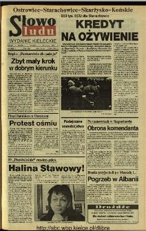 Słowo Ludu 1994, XLV, nr 8 (Ostrowiec-Starachowice-Skarżysko-Końskie)