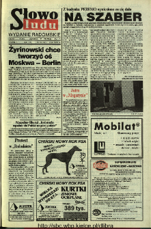 Słowo Ludu 1994, XLV, nr 22 (wydanie radomskie)