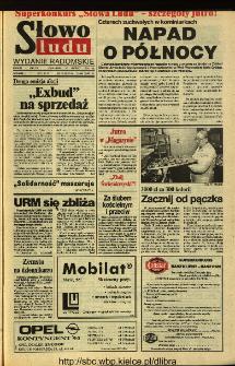 Słowo Ludu 1994, XLV, nr 34 (wydanie radomskie)