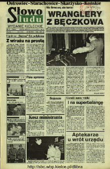 Słowo Ludu 1994, XLV, nr 36 (Ostrowiec-Starachowice-Skarżysko-Końskie)