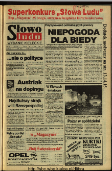 Słowo Ludu 1994, XLV, nr 39