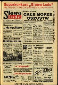 Słowo Ludu 1994, XLV, nr 39 (wydanie radomskie)