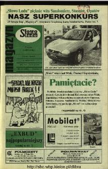 Słowo Ludu 1994, XLV, nr 41 (magazyn)