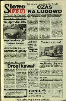 Słowo Ludu 1994, XLV, nr 43 (wydanie radomskie)