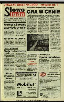 Słowo Ludu 1994, XLV, nr 58 (wydanie radomskie)