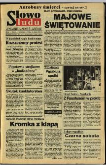 Słowo Ludu 1994, XLV, nr 101 (wydanie nadwiślańskie)