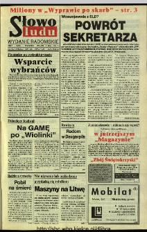 Słowo Ludu 1994, XLV, nr 102 (wydanie radomskie)