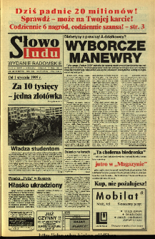 Słowo Ludu 1994, XLV, nr 108 (wydanie radomskie)
