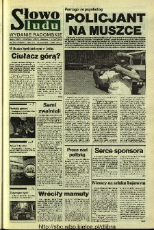 Słowo Ludu 1994, XLV, nr 110 (wydanie radomskie)
