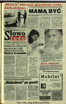 Słowo Ludu 1994, XLV, nr 120 (wydanie nadwiślańskie)