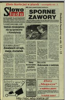 Słowo Ludu 1994, XLV, nr 130 (wydanie radomskie)