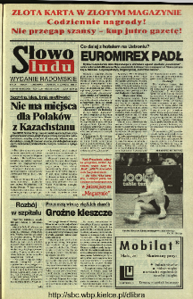 Słowo Ludu 1994, XLV, nr 131 (wydanie radomskie)