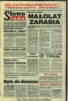 Słowo Ludu 1994, XLV, nr 149 (wydanie radomskie)