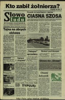 Słowo Ludu 1994, XLV, nr 163 (wydanie radomskie)