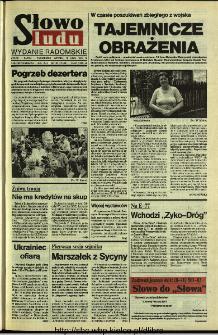Słowo Ludu 1994, XLV, nr 165 (wydanie radomskie)