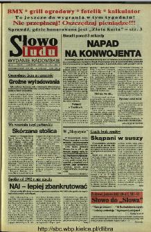 Słowo Ludu 1994, XLV, nr 166 (wydanie radomskie)