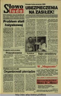 Słowo Ludu 1994, XLV, nr 167 (wydanie radomskie)