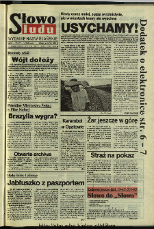 Słowo Ludu 1994, XLV, nr 172 (wydanie nadwiślańskie)