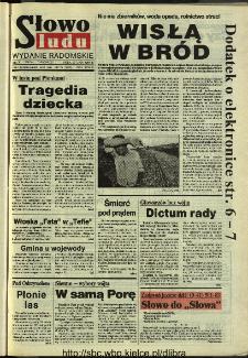 Słowo Ludu 1994, XLV, nr 172 (wydanie radomskie)