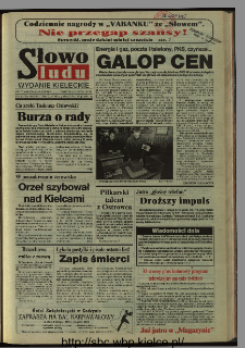 Słowo Ludu 1995, XLV, nr 28