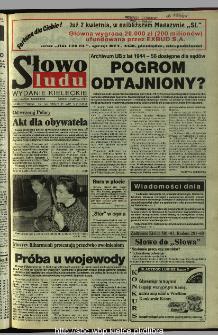 Słowo Ludu 1995, XLV, nr 80