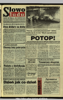 Słowo Ludu 1995, XLV, nr 125 (Nad Wisłą i Kamienną)