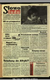 Słowo Ludu 1995, XLV, nr 125 (radomskie)