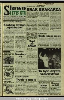 Słowo Ludu 1995, XLV, nr 127 (radomskie)