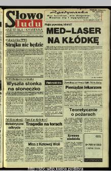 Słowo Ludu 1995, XLV, nr 129 (Nad Wisłą i Kamienną)