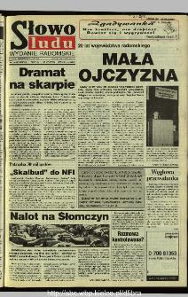 Słowo Ludu 1995, XLV, nr 129 (radomskie)
